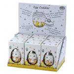 Raining Eggs Coddler by Clare Mackie