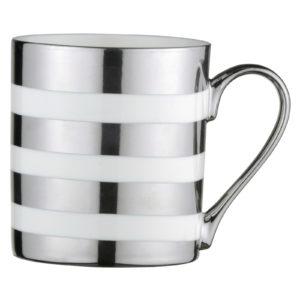 Stripes Mug Platinum