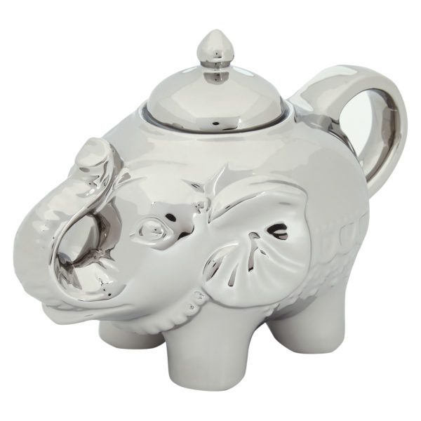 Elephant Sugar Pot Platinum