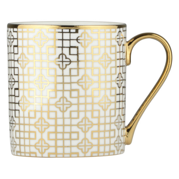 Art Deco Mug Gold