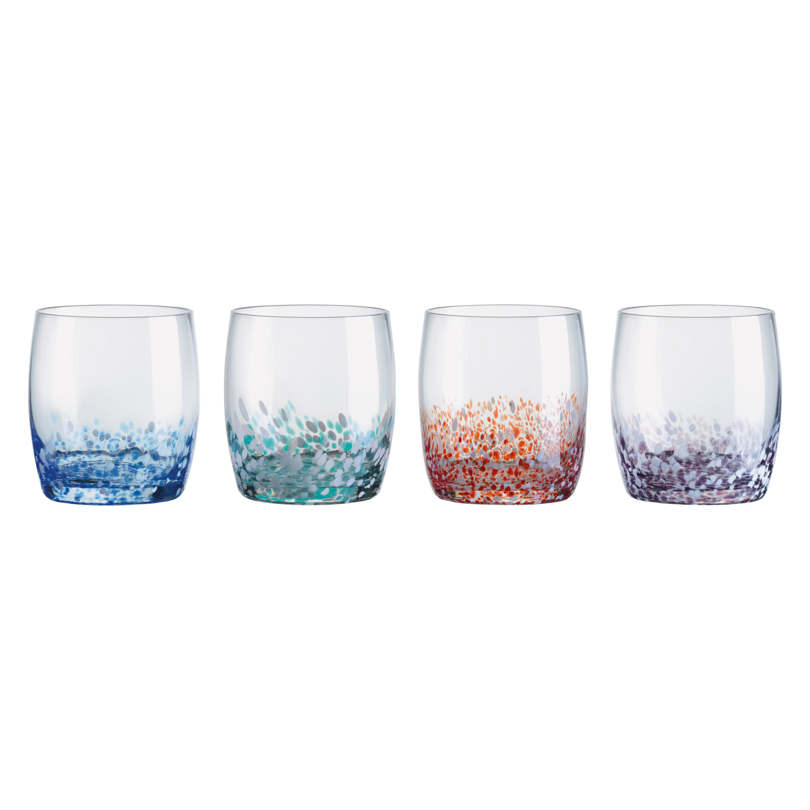 Set of 4 Speckle DOF Tumblers