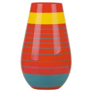 Halo Orange Vase Large